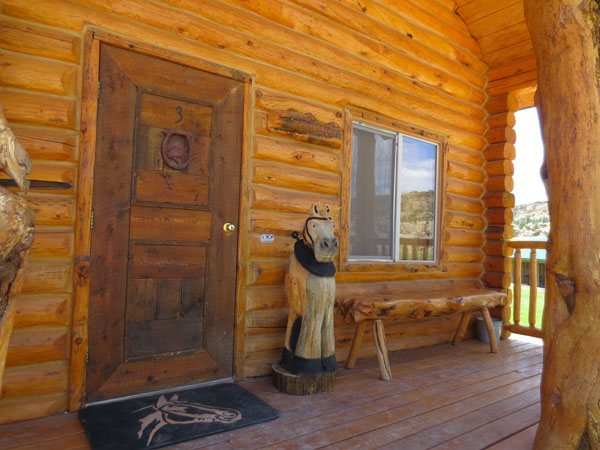 The Teamster Log Cabin