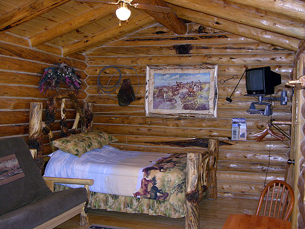 The Cow Puncher Log Cabin